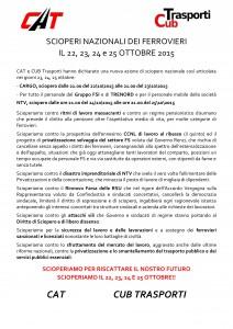 I Ferrovieri Scioperano il 22,23,24 e 25 ottobre 2015_000001